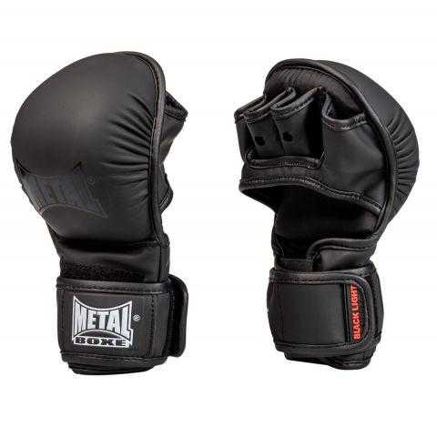 Gants de MMA Metal Boxe - Noir