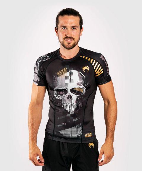 T-shirt de compression Venum Skull - Manches courtes - Noir