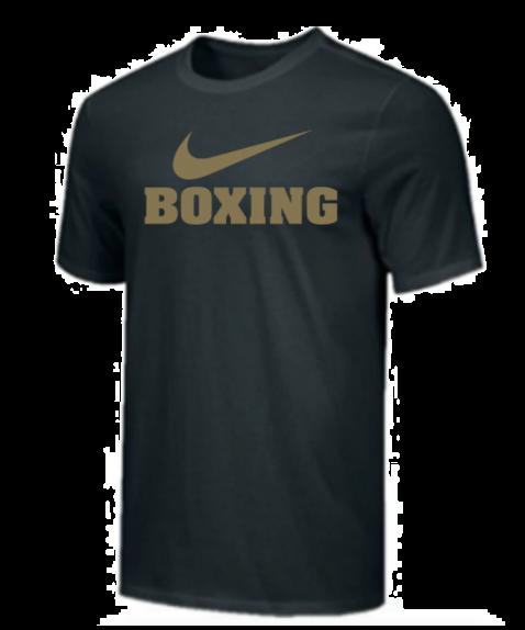 T-Shirt d'entraînement Nike - BOXING - Noir