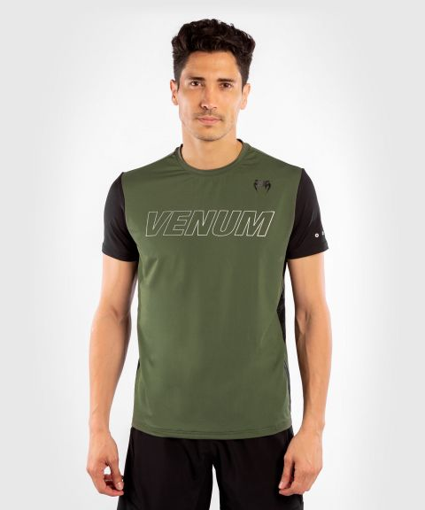 Dry Tech T-shirt Venum Classic Evo - Kaki/Argent