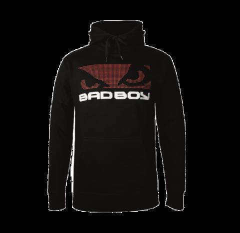 Sweat-Shirt à capuche Bad Boy - Noir/Rouge