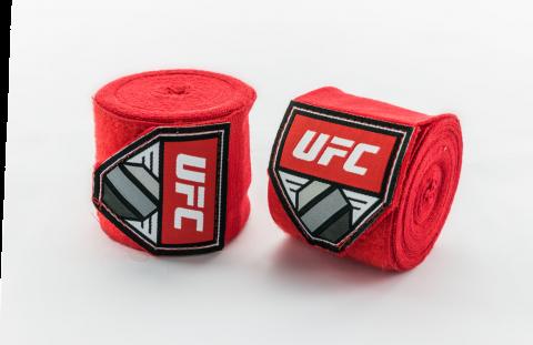 Bandages de Boxe UFC  - Rouge