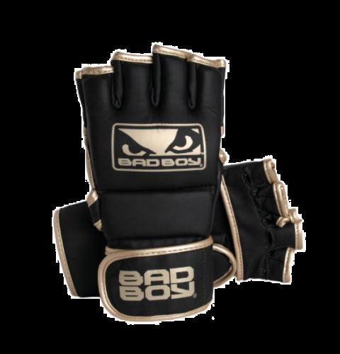 Gants de MMA Bad Boy Fashion - Avec Pouces - Noir/Or