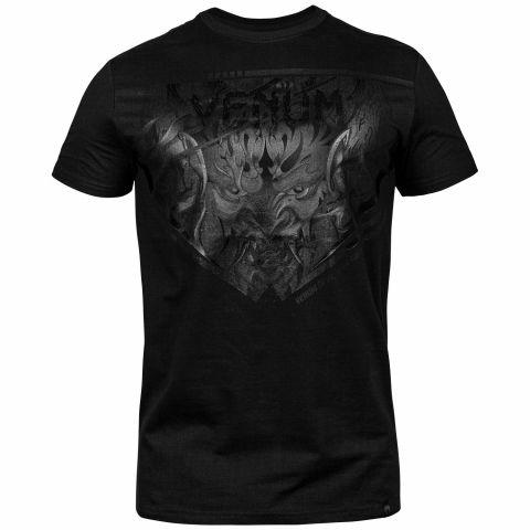 T-shirt Venum Devil - Noir/Noir