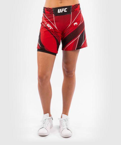 Fightshort Femme UFC Venum Authentic Fight Night - Coupe Longue - Rouge