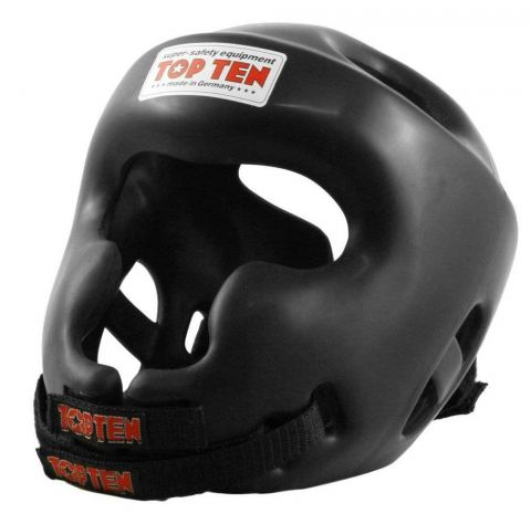 Casque Full Protection Top Ten - Noir