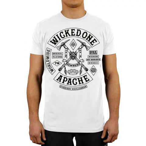 T-shirt Wicked One Apache - Blanc