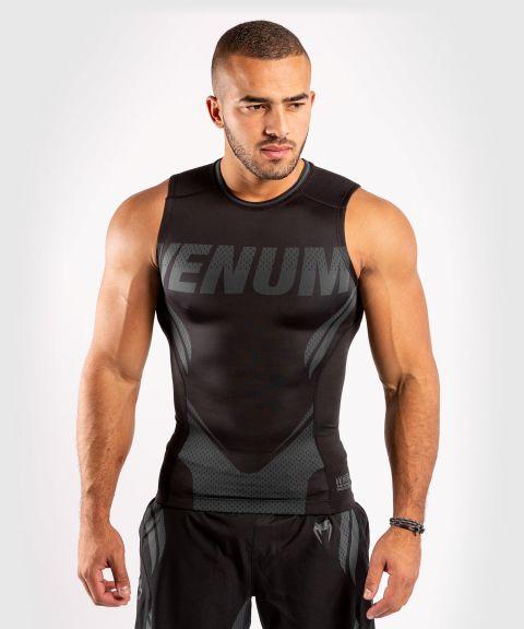 T-shirt de compression Venum ONE FC Impact - sans manches - Noir/Noir