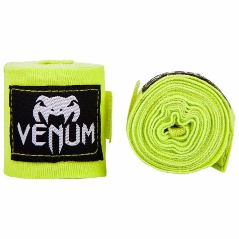 Bandages de Boxe Venum Kontact - 4 mètres - Jaune fluo (Neo)