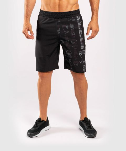 Short de Sport Venum Logos - Noir/Urban Camo