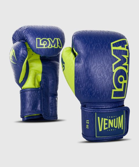 Gants de boxe Venum Origins Edition Loma - Bleu/Jaune