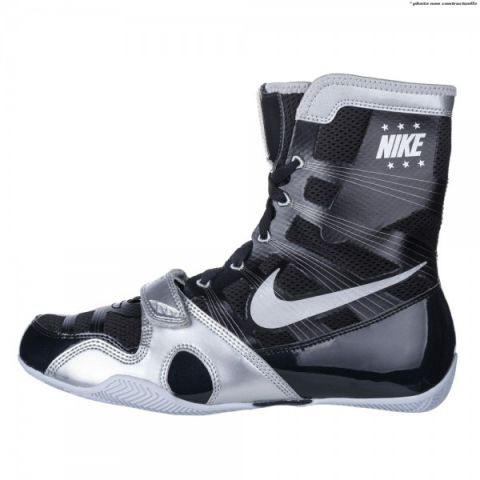 Chaussures de boxe semi-montantes HyperKO Nike - Noir/Gris