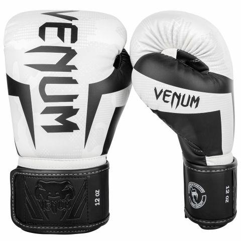 Gants de boxe Venum Elite - Blanc/Camo
