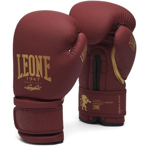 Gants de Boxe Leone GN059X - Bordeaux