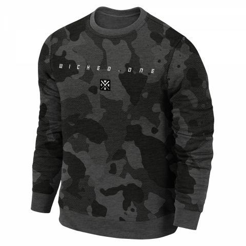 Sweatshirt Wicked One Kamikaze - Gris foncé