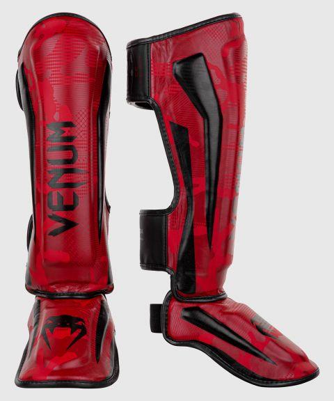 Protège-tibias Venum Elite - Red Camo