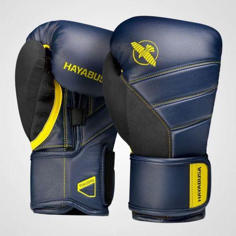 Gants de boxe Hayabusa T3 - Marine/Jaune