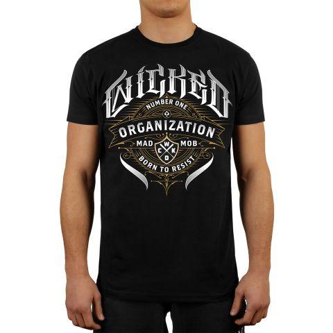 T-shirt Wicked One Organization - Noir