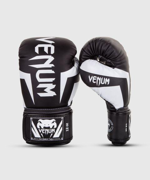Gants de Boxe Venum Elite - Noir/Blanc