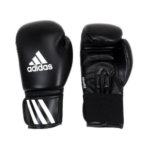 Gants de boxe Adidas Speed 50 V2 - Noir/Blanc