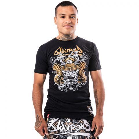 T-shirt 8 Weapons Samurai - Noir