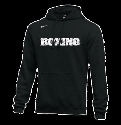 Sweat-shirt d'entraînement Nike - BOXING - Noir