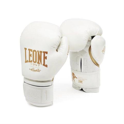 Gants de boxe Leone GN059 - Blanc