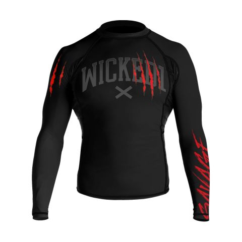 Rashguard Wicked One Savage - Noir
