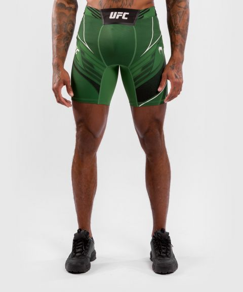 Short de Vale tudo Homme UFC Venum Authentic Fight Night - Coupe Longue - Vert