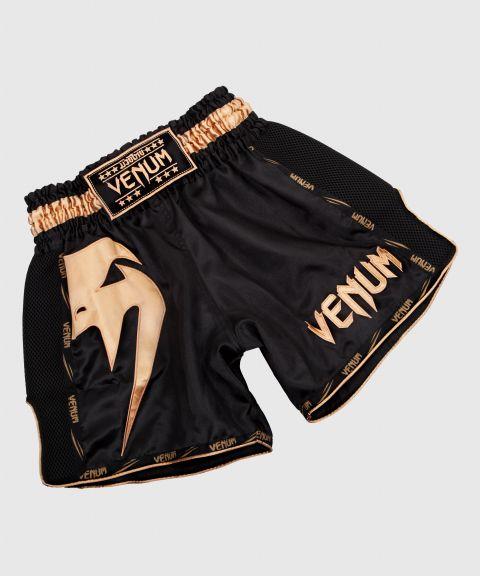 Short de Muay Thai Venum Giant - Noir/Or