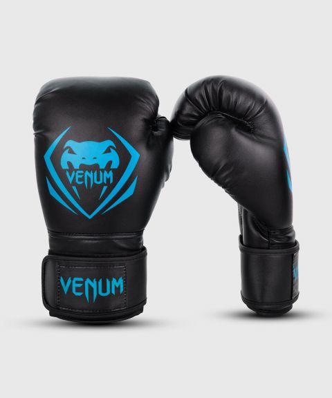 Gants de boxe Venum Contender-Noir/Bleu