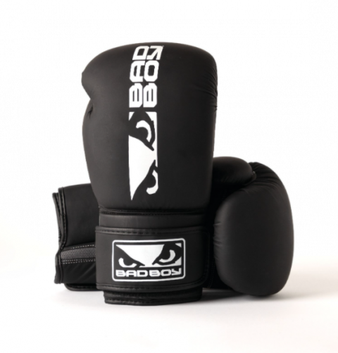 Gants de Boxe Apollo Bad Boy - Noir/Blanc