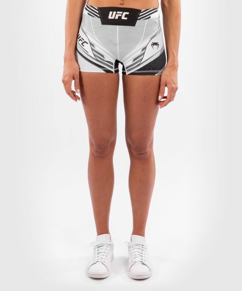 Short de Vale tudo Femme UFC Venum Authentic Fight Night - Coupe Courte - Blanc