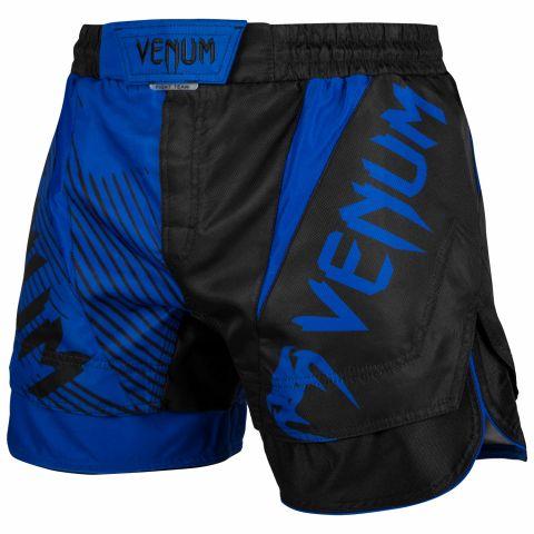 Fightshort court Venum NoGi 2.0 Approuvé IBJJF - Noir/Bleu