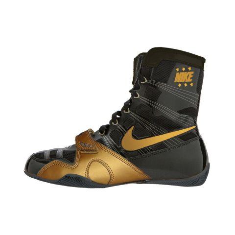 Chaussures de boxe Nike HyperKO édition limitée - Noir/Doré