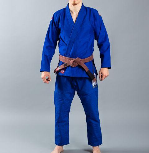 Kimono de JJB Scramble Athlete 4 Light - Bleu