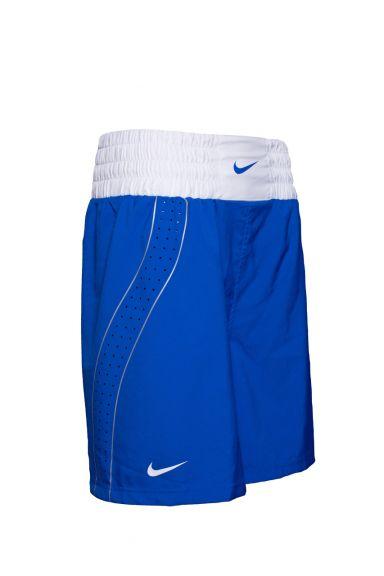 Short de Boxe Nike - Bleu/Blanc