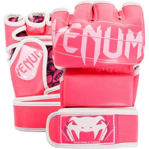 Gants de MMA Venum Undisputed 2.0 - Rose/Blanc