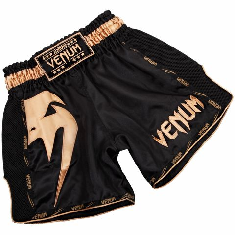 Short de Muay Thai Venum Giant - Noir/Or