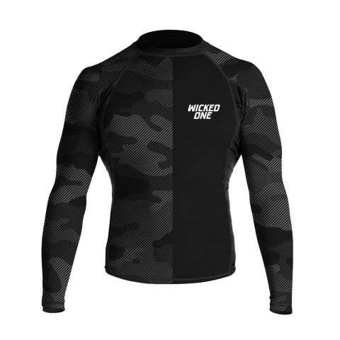 Rashguard Wicked One Camo - Noir
