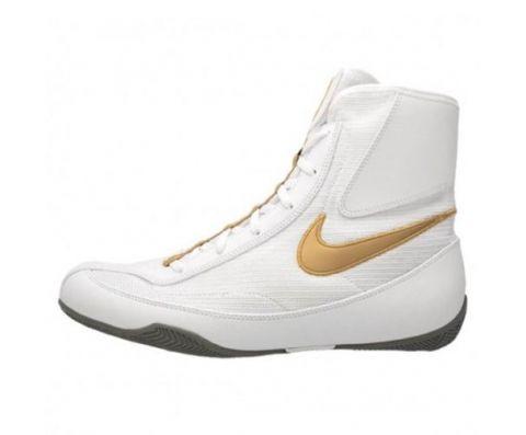 Chaussures de boxe semi-montantes Nike Machomai 2  - Blanc