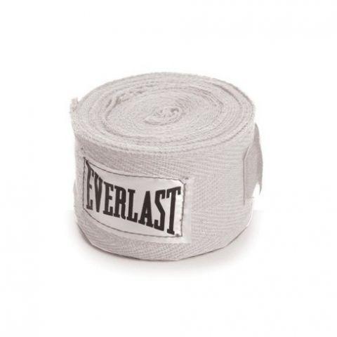 Bandages de Boxe Everlast - 3 m - Blanc