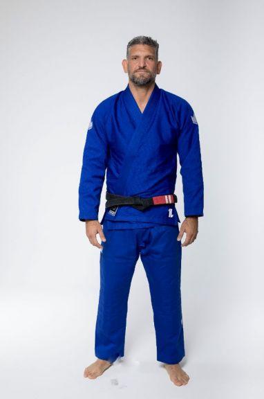 Kimono de JJB Kingz The One (ceinture blanche offerte) - Bleu