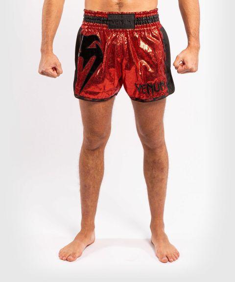 Short de Muay Thai Venum Giant Foil - Rouge/Noir