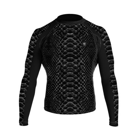 T-Shirt de compression Wicked One Python - Manches Longues - Noir