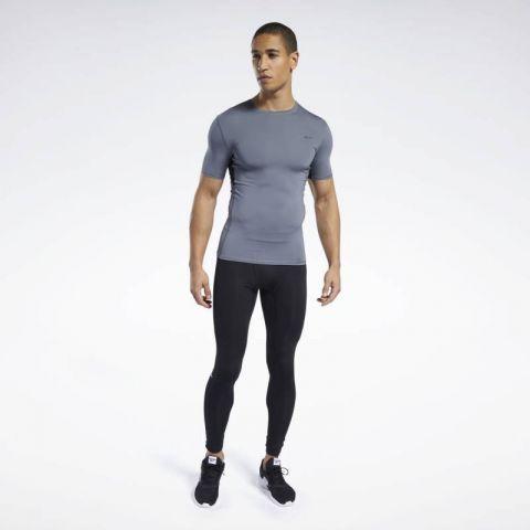 T-shirt de Compression Workout Ready - Gris - manches courtes