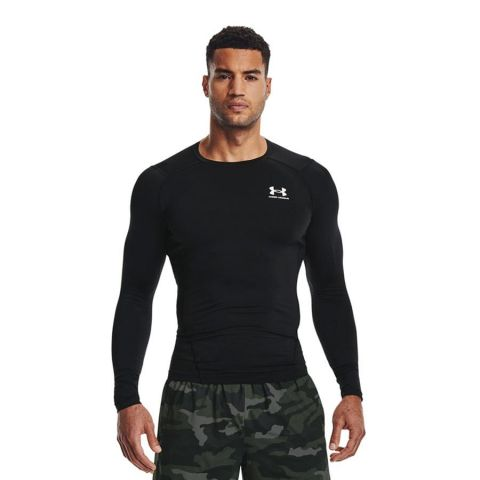 T-shirt Under Armour HeatGear® Armour - Manches Longues - Noir
