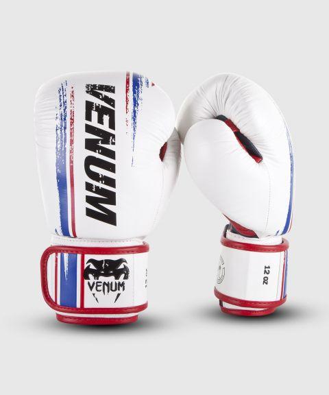 Gants de boxe Venum Bangkok Spirit - Cuir Nappa - Blanc