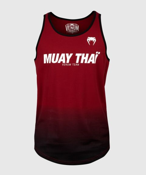 Débardeur Venum Muay Thai VT - Bordeaux/Noir