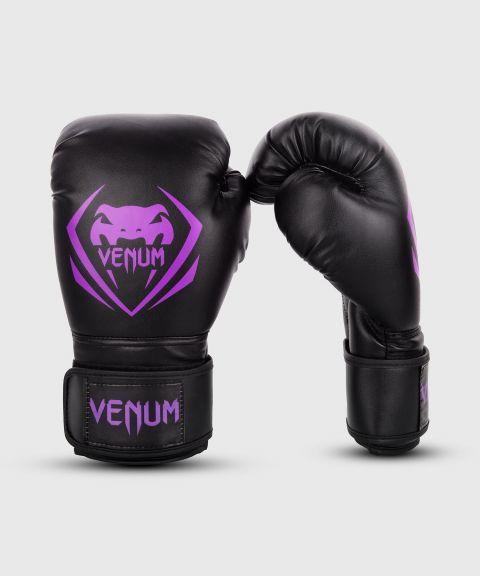 Gants de boxe Venum Contender - Noir/Violet